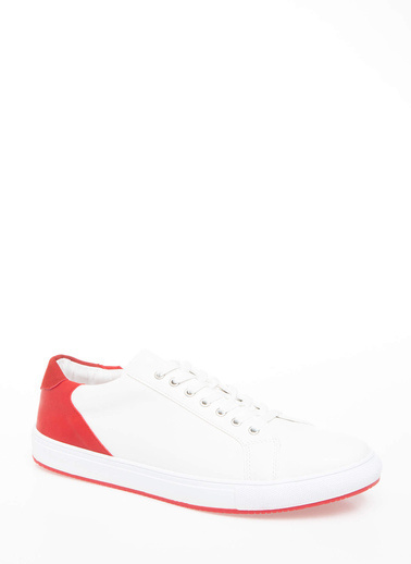 DeFacto Renk Bloklu Sneaker Beyaz
